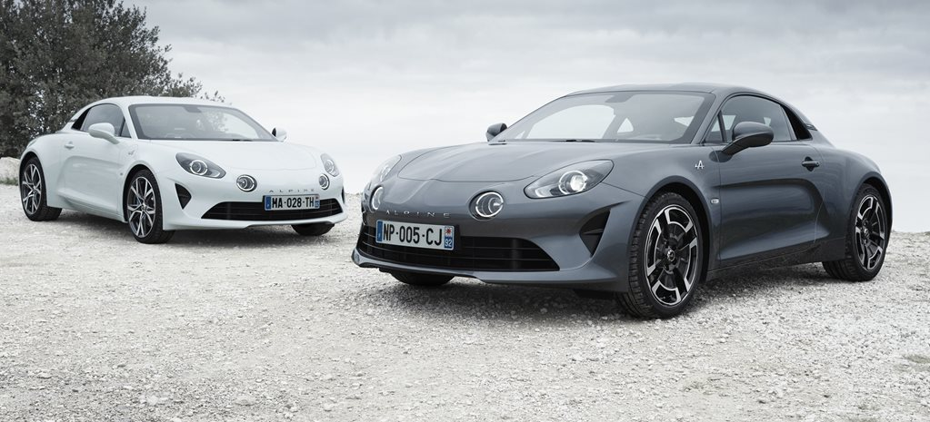 Geneva motor show Alpine A110 Pure and Legende variants revealed