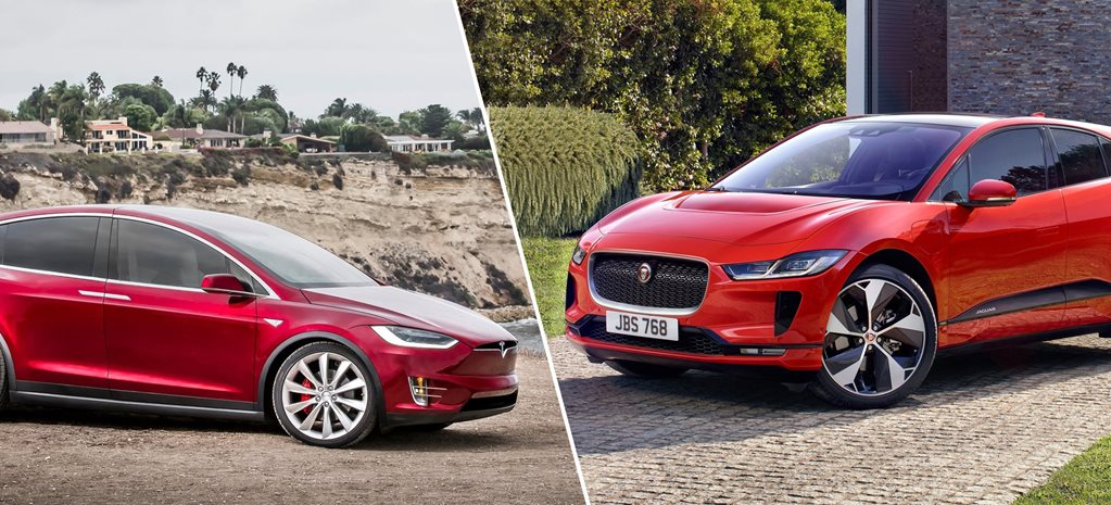 Jaguar I-Pace vs Tesla Model X on paper