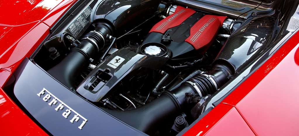 Ferrari packing a V8 hybrid coming in 2019