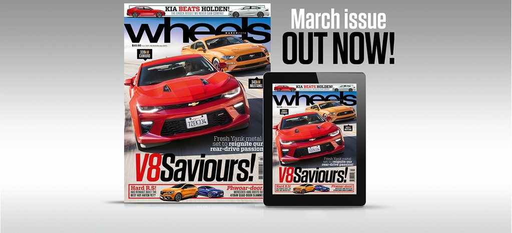 Wheels March 2018 New edition out this week