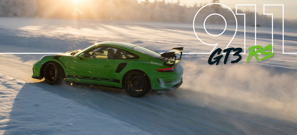 Walter Rohrl takes us for a spin in the new Porsche 991 GT3 RS