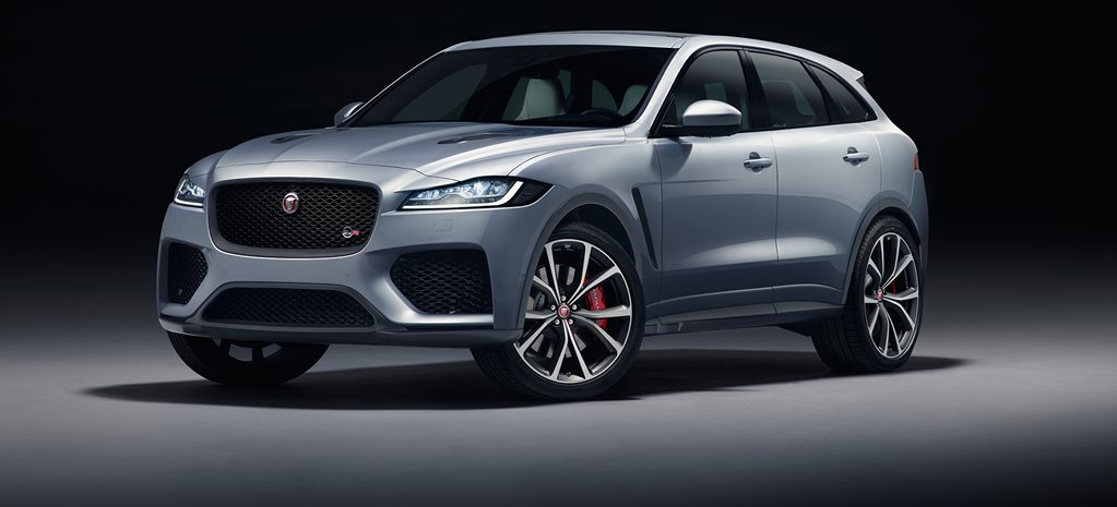 2018 New York Motor Show Jaguar F-Pace SVR revealed