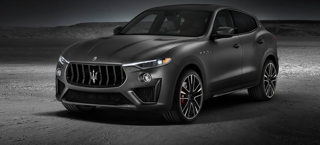 New York motor show Maserati Levante Trofeo fires up