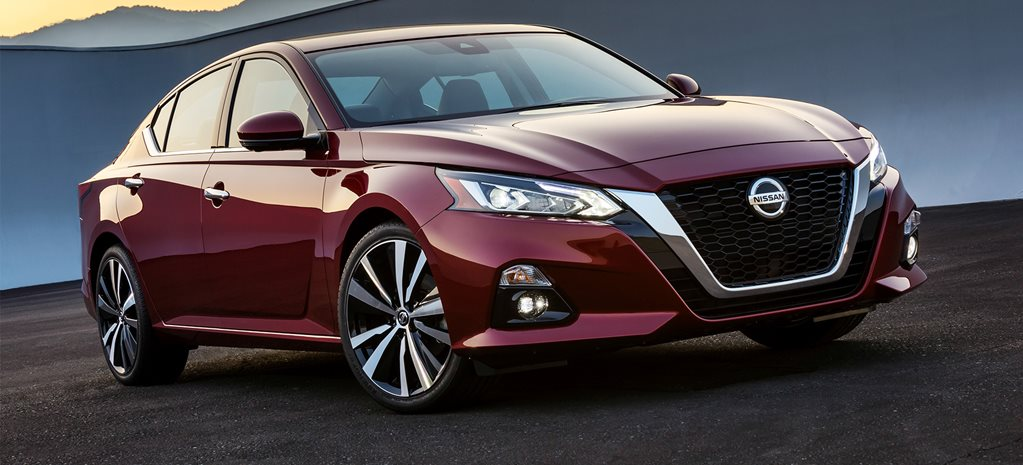 2018 New York Motor Show Nissan Altima revealed