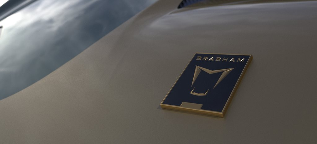 brabham automotive bt62 badge