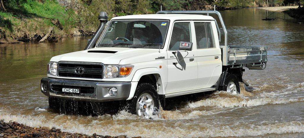 Toyota LandCruiser 79 Series Dual Cab