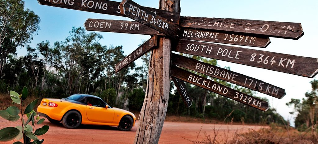 Road Trip: Mazda MX-5 in Cape York, Australia