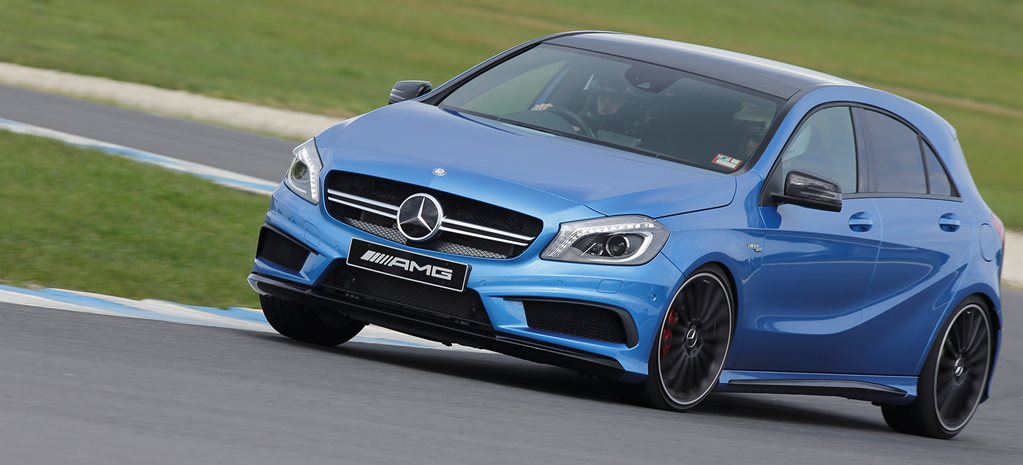2015 Mercedes A45 AMG First Drive Review