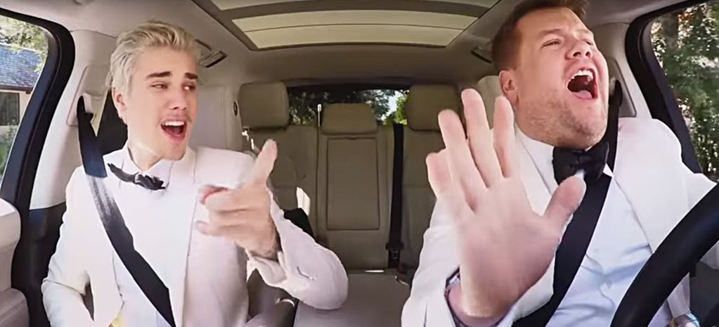 James Corden & Justin Bieber's Post Grammy's Karaoke Drive