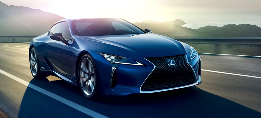 Lexus LC 500h revealed as flagship hybrid coupe