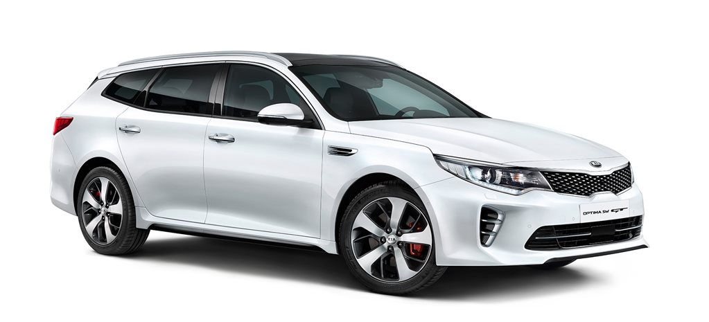 Kia Optima Sportswagon unwrapped