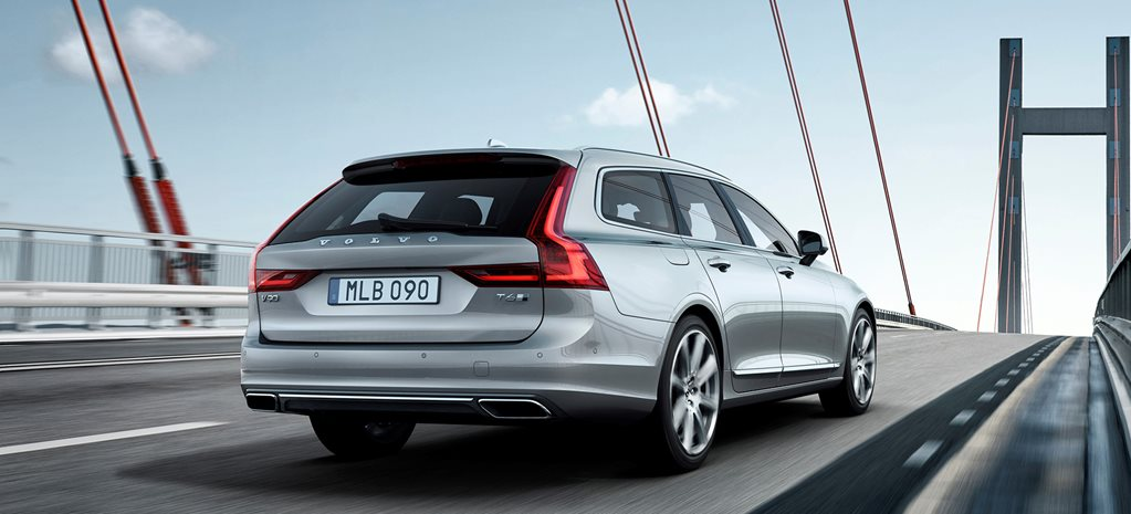 Volvo V90 first look