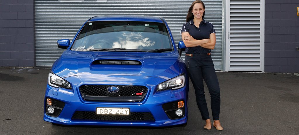Subaru returns to the Australian Rally Championship with Molly Taylor