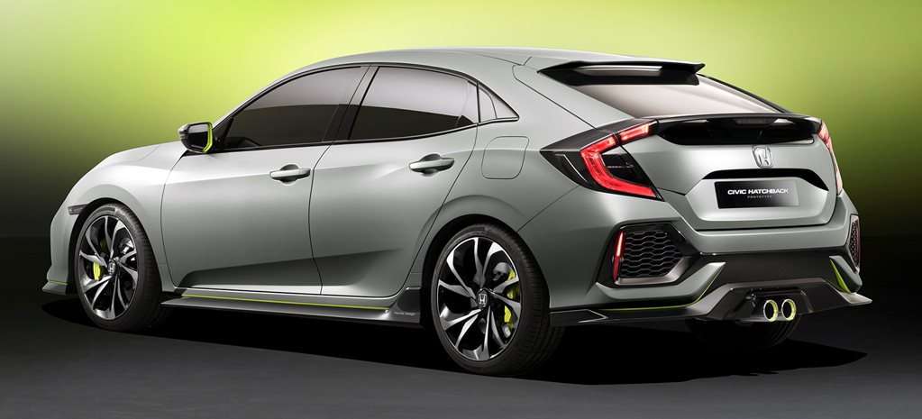 All-new Honda Civic Hatch revealed at Geneva Motor Show