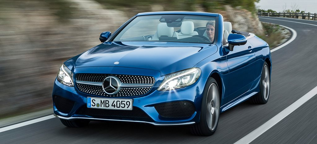 Geneva Motor Show: Mercedes-Benz C-Class Cabriolet revealed