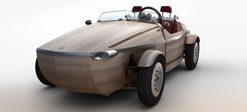 Wooden Toyota Setsuna at Milan Design Week