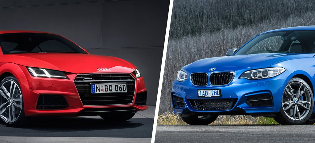 Audi TT 2.0 TFSI Sport v BMW 228i Coupe comparison review