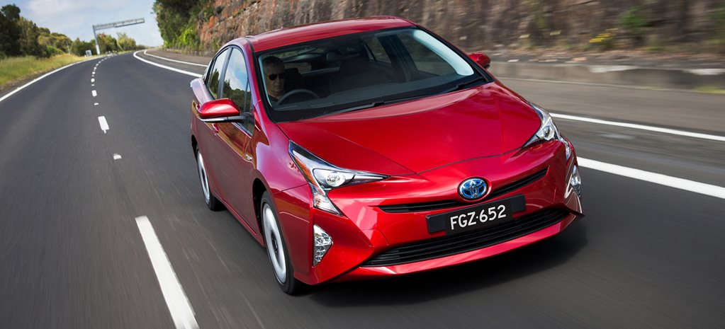 Toyota Prius revamped and released Down Under