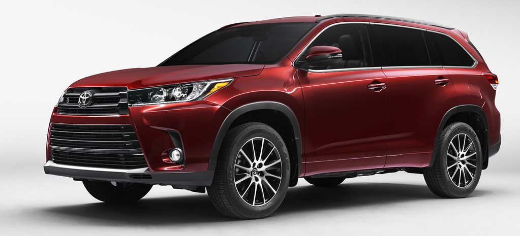 Toyota Kluger facelift revealed for 2017