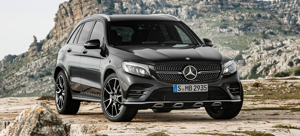 New York Auto Show: Mercedes-AMG GLC43 touches down