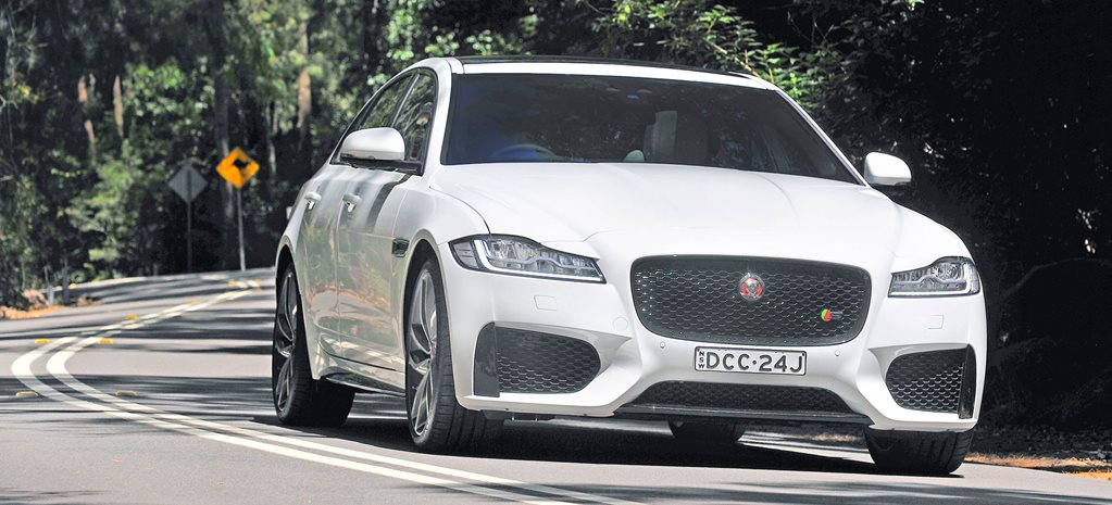2018 Jaguar XF Review
