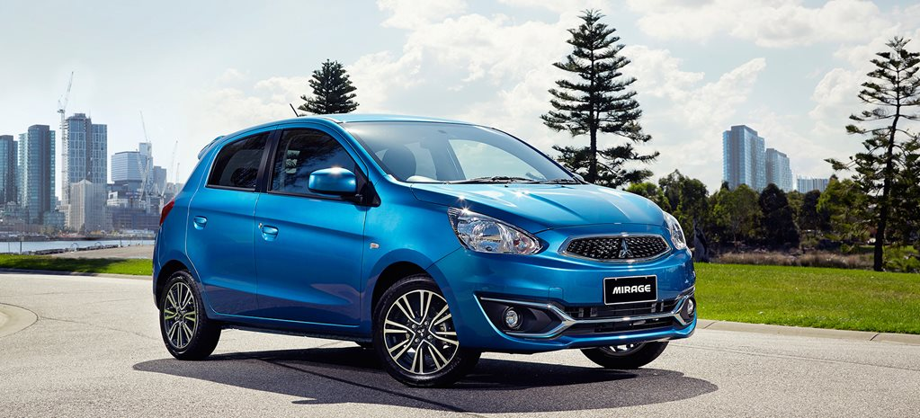 Mitsubishi Mirage updated, still cheapest car with 5-star safety