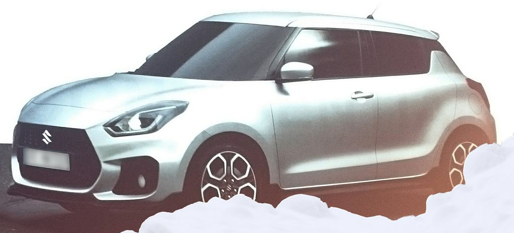 New Suzuki Swift photos leaked