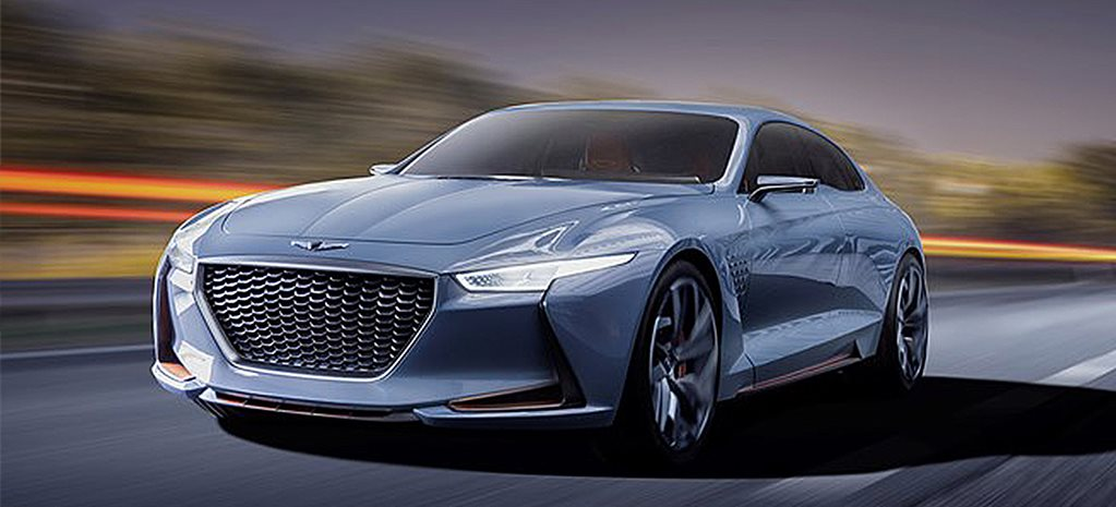 New York Auto Show: Genesis G70 Concept shows its face
