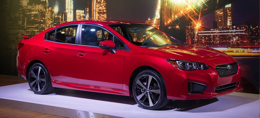 New York Auto Show: Subaru Impreza hatch and sedan revealed