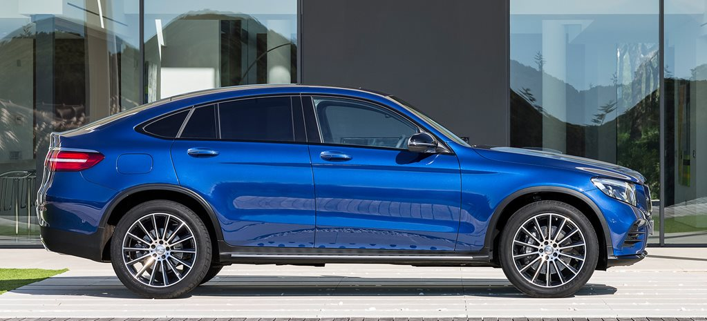 Mercedes-Benz GLC Coupe to rival BMW X4
