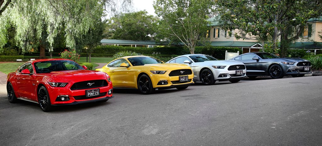 Ford Mustang local supply receives 2000 extra units, SYNC 3 infotainment to come standard