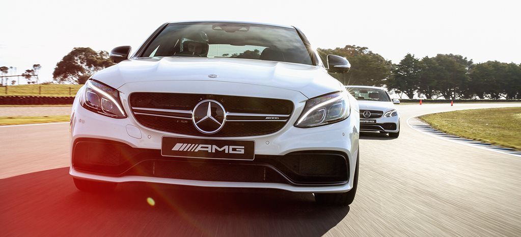 AMG Evolution driving experience
