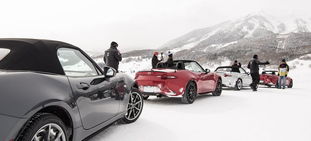 Mazda Ice Academy driving experience in Colorado, USA