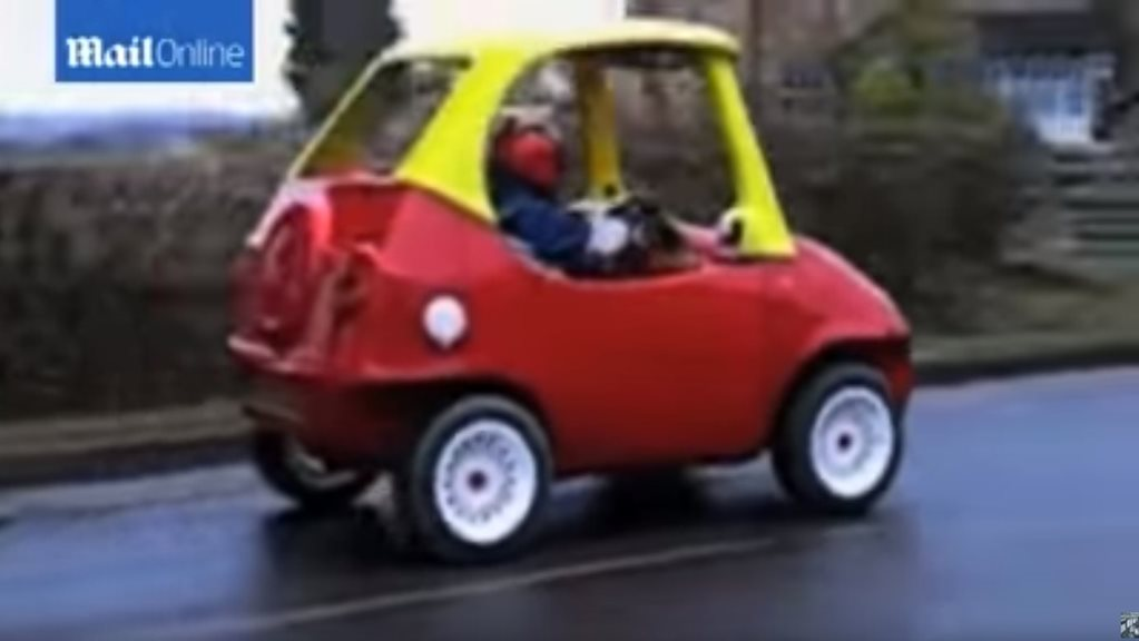 Adult size Little Tikes Cozy Coupe fails to sell