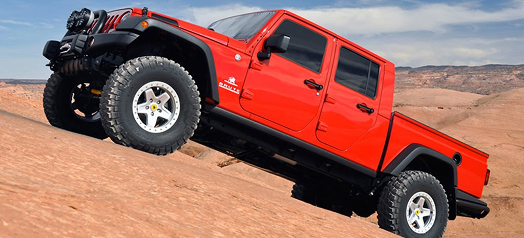 Jeep Wrangler Ute heading to Australia