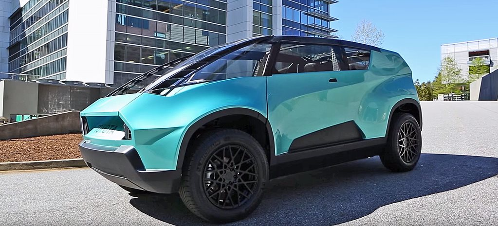 Toyota uBox concept designed by university students