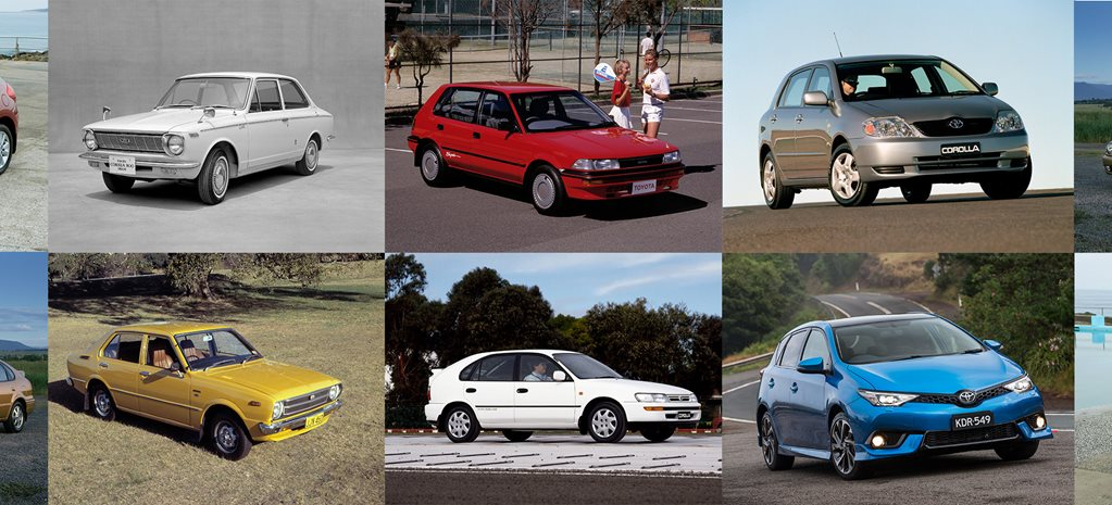 Toyota Corolla, the world's best-selling car, celebrates its 50th birthday