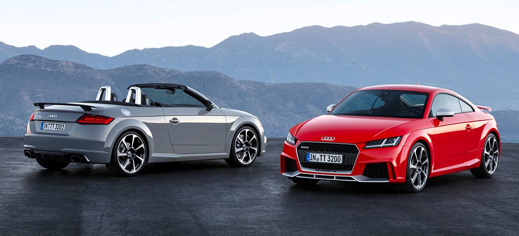 Audi TT RS to arrive next year with supercar-baiting acceleration