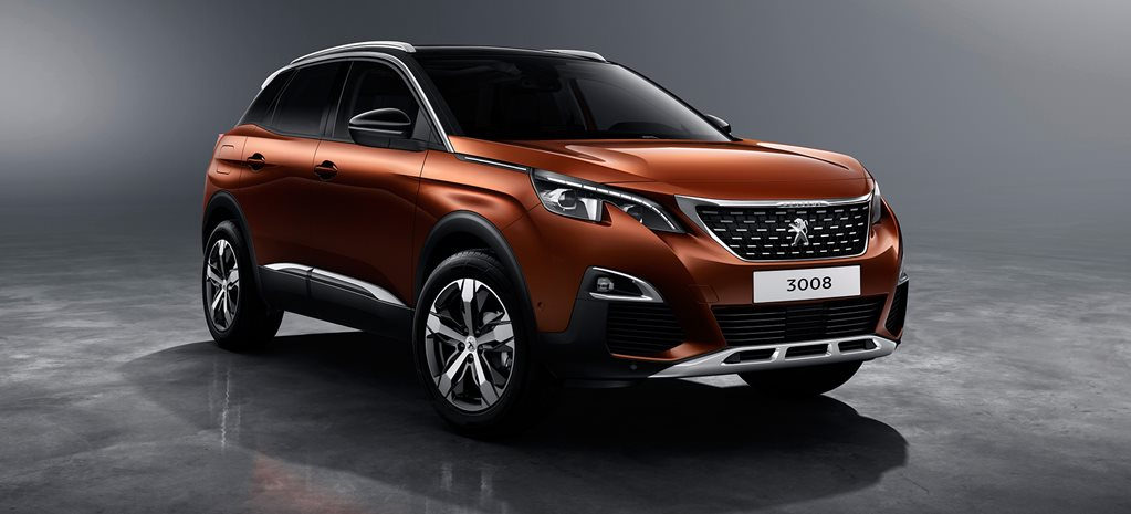 2017 peugeot 3008 suv unveiled. Black Bedroom Furniture Sets. Home Design Ideas