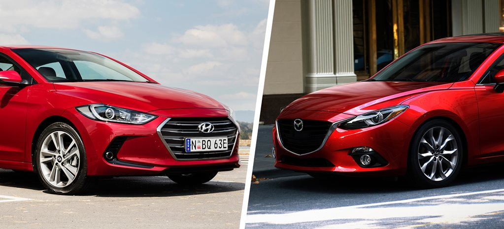 Mazda3 Vs Hyundai Elantra >> Hyundai Elantra V Mazda 3 Comparison Review