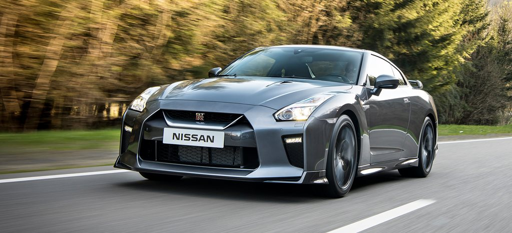 Nissan GT-R front side