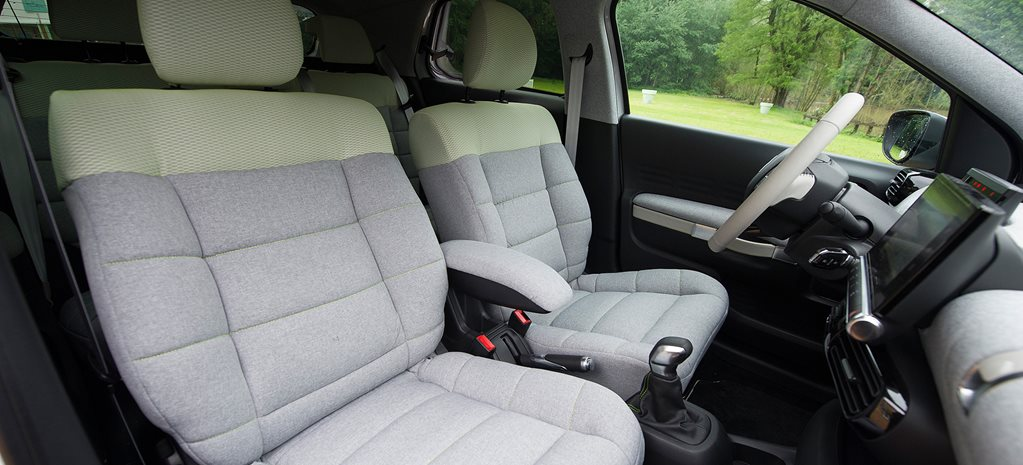 Citroen C4 Cactus mattress seats