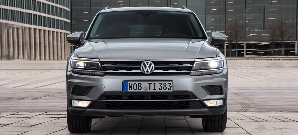 2016 Volkswagen Tiguan specifications revealed