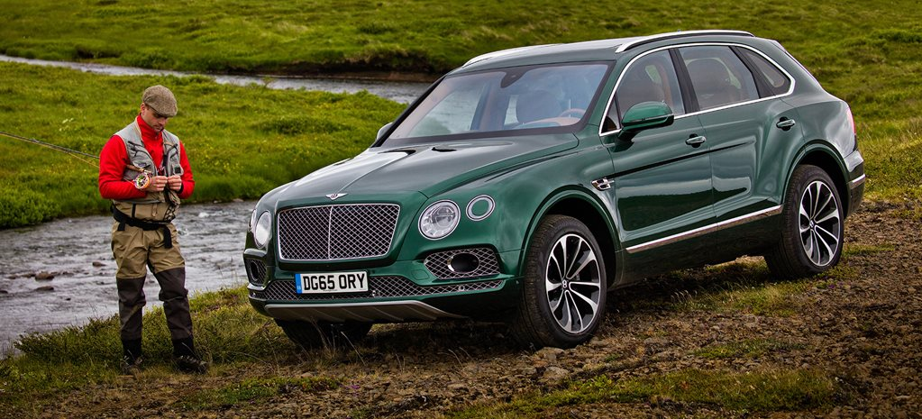Bentley Bentayga fly fishing SUV
