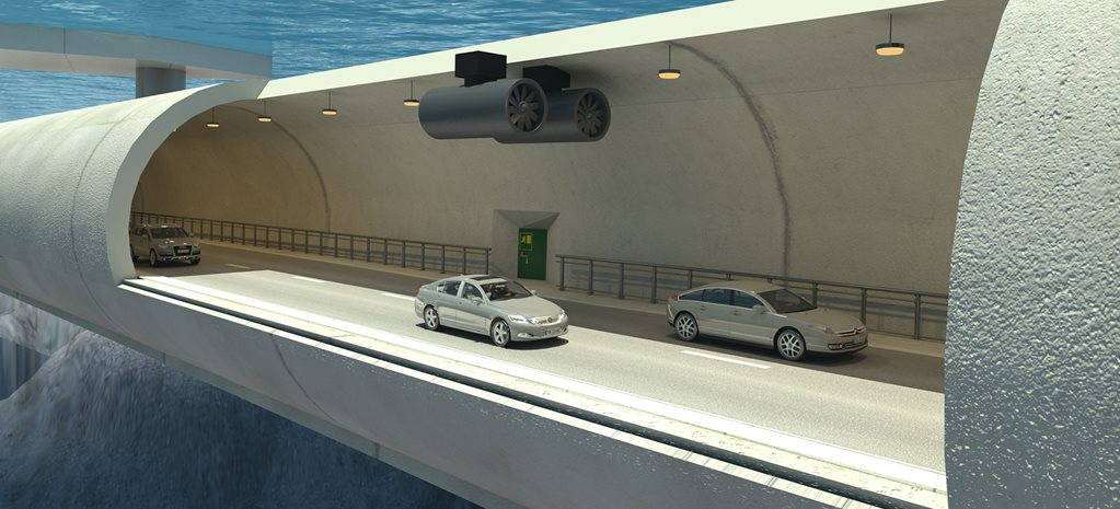 Underwater tunnel Norway