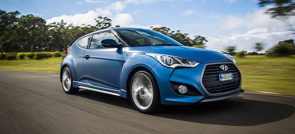 Hyundai Veloster update goes premium only