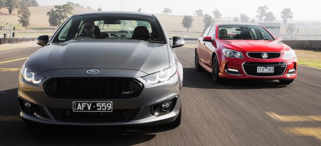 Ford Falcon vs Holden Commodore