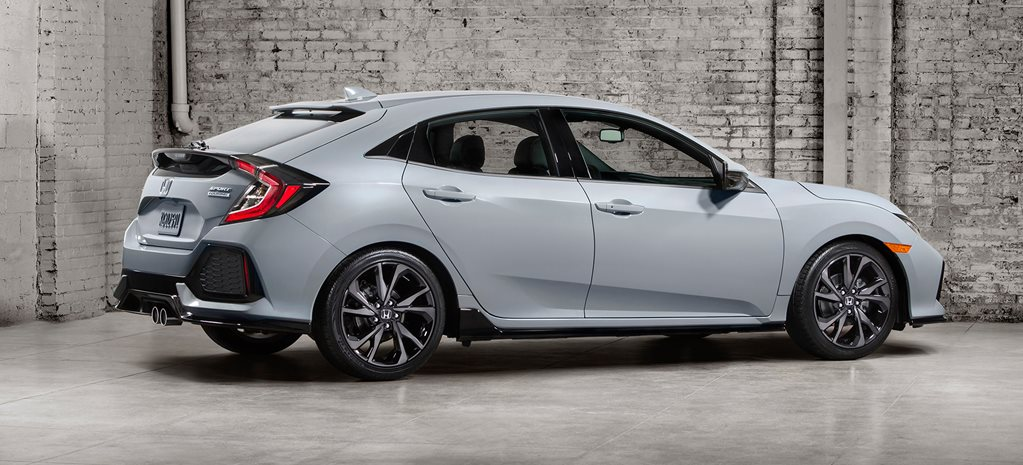Honda Civic Hatch unveiled in official photo