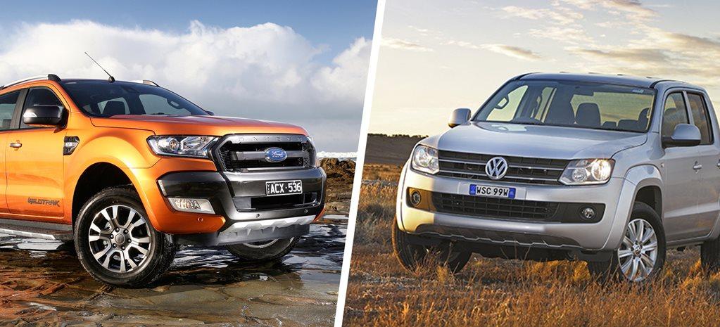 ford ranger vs volkswagen amarok comparison review