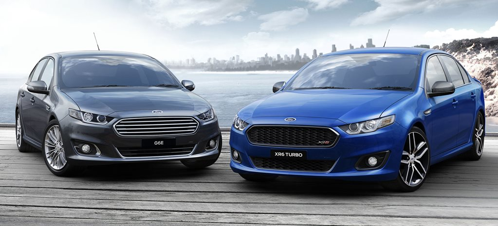 Ford Falcon XR6 and Ford Falcon G6E